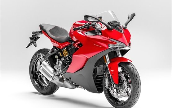 Ducati Supersport - motorbike rental Rome