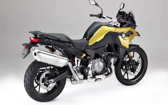BMW F 750 GS motorbike rental in Madrid