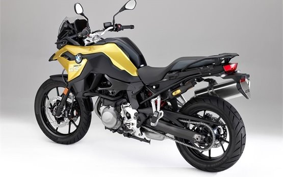 2018 BMW F 750 GS motorbike rental in Madrid