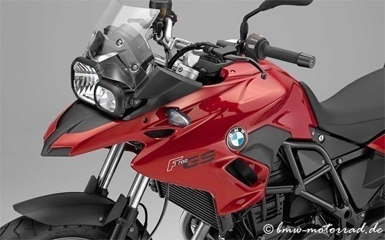 BMW F 700 GS - motorbike rental in Rome