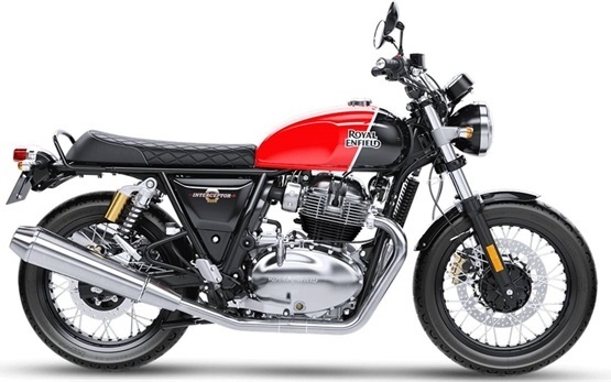 Royal Enfield Interceptor 650 - motorbike hire Malaga