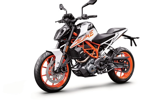 KTM 390 Duke - motorcycle rental in Geneva