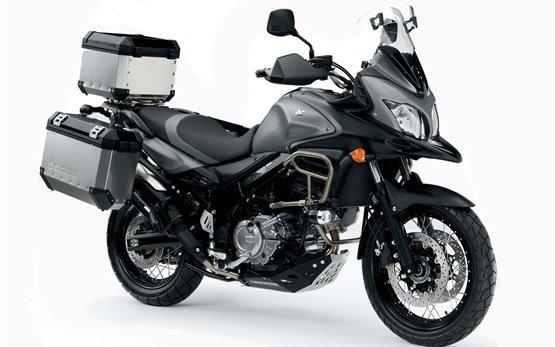 Suzuki V-strom 650 ABS motorbike rental in Athens