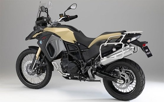 BMW F800 GS rent a bike in Madrid