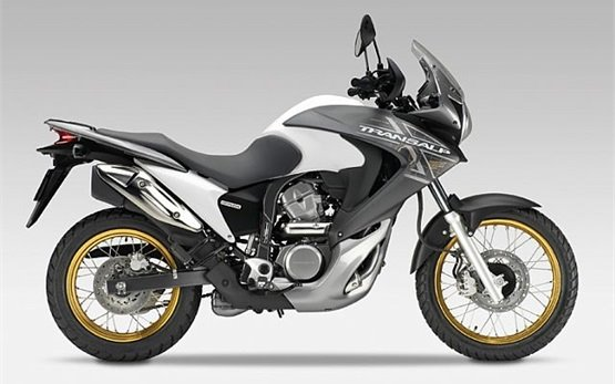 2013 Honda Transalp 700cc motorbike rental in Crete - Greece