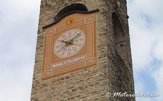Bergamo - a clock tower