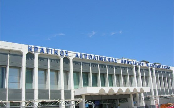 Heraklion Airport Crete