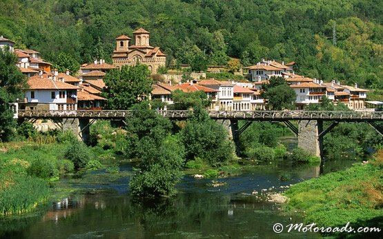 Bridge Over Yantra River, Veliko Tarnovo