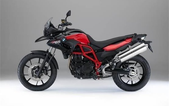 2016 BMW F 700 GS motorbike rental in Crete