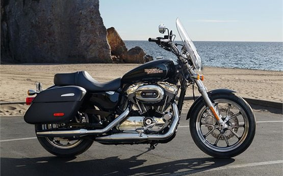 Harley Davison XL 1200 T Superlow ABS  - Motorradvermietung Malaga