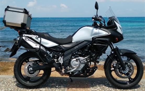 Suzuki V-strom 650cc - motorbike rental in Crete