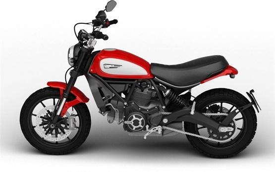 Ducati Scrambler Icon 803 - Motorradvermietung Barcelona