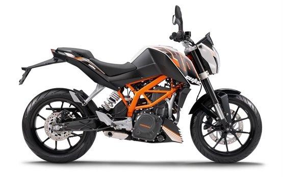 KTM Duke 390 - аренда мотоцикла Дели