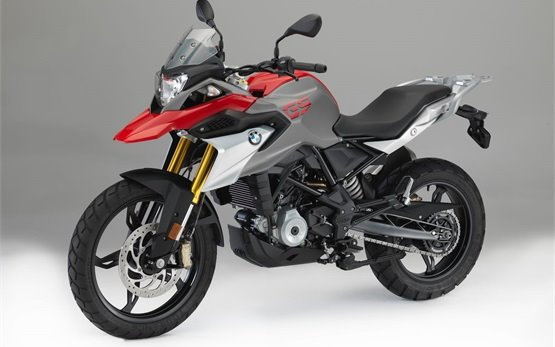 BMW G 310 GS motorbike rental in Spain