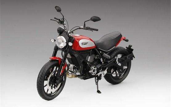 Ducati Scrambler Icon 803 - Motorradvermietung Rom