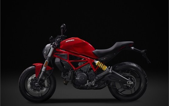 Ducati Monster 797 - motorbike rental Rome