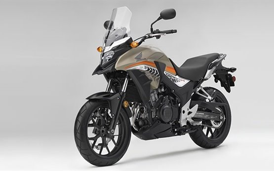 Honda CB500X - мотоциклет под наем в Атина