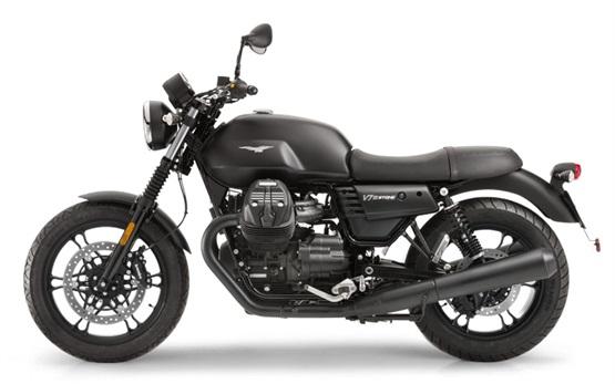 Moto Guzzi V7 - motorbike rental in Milan