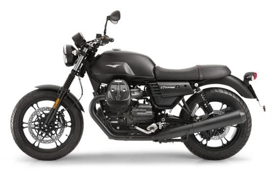 Moto Guzzi V7 Motorradvermietung Italien
