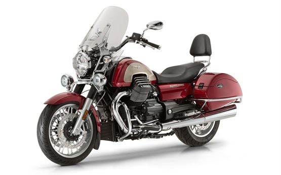 Moto Guzzi California 1400 Touring - rent a motorbike in Rome