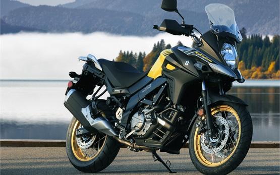 Сузуки В-Стром 650cc мотоциклет под наем