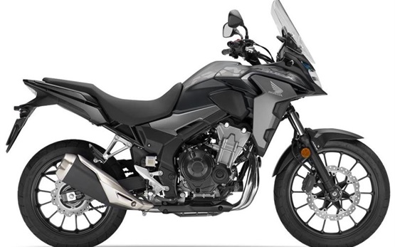 Honda CB500X - motorcycle rental in Crete