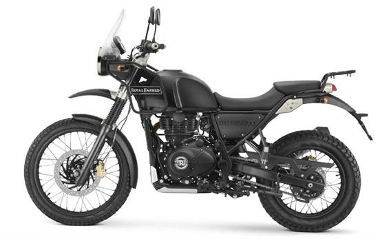 Royal Enfield Himalayan 411 - motorbike hire Porto