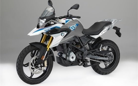 BMW G 310 GS - motorbike rental Rome