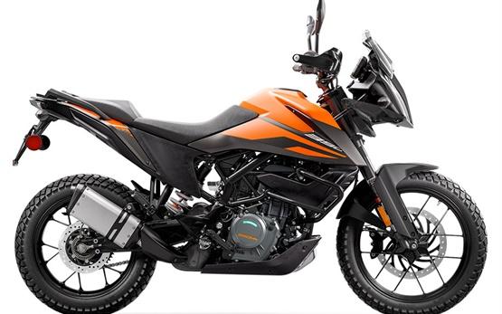 KTM 390 Adventure - Motorrad mieten Genef