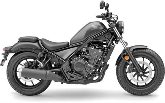 Honda REBEL 500 - motorcycle rental in Barcelona, Spain