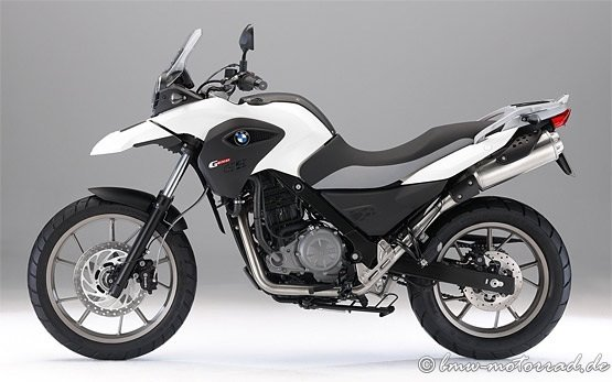 BMW G 650 GS ABS - motorbike rental in Crete