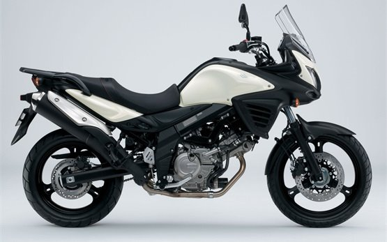2012 - Suzuki V-strom 650 ABS motorbike rental in Crete - Greece