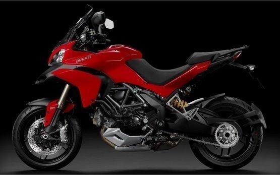 Ducati Multistrada - motorbike rental in Nice