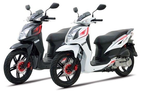 SYM Symphony 125cc - scooter rental Karpathos