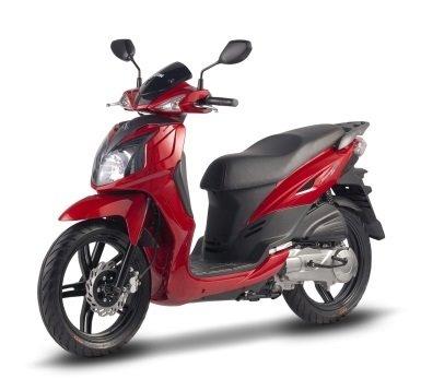SYM Symphony SR150 - scooter rental Karpathos