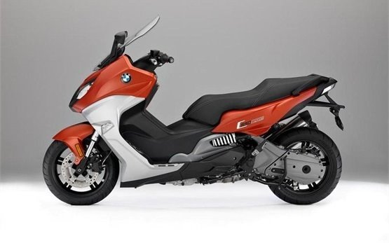 BMW C 650 Sport - scooter for rent in Rome