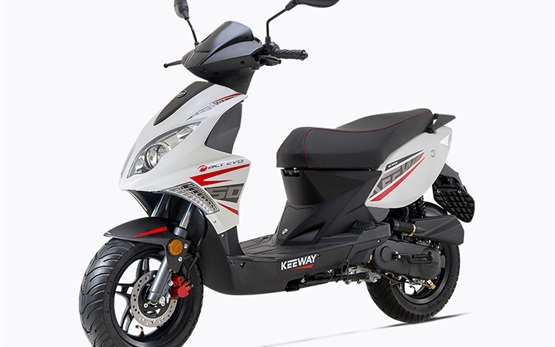 Keeway 50cc - rent a scooter Golden sands